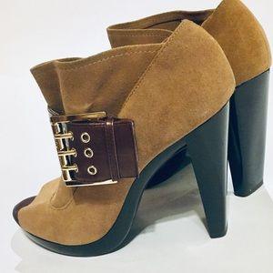 Michael Kors Shoes - Sold Michael Kors St Marks Booties Platform Heels